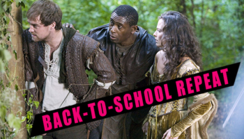 Back to School Repeat - Unnecessary lacing - Robin Hood (2006-9)